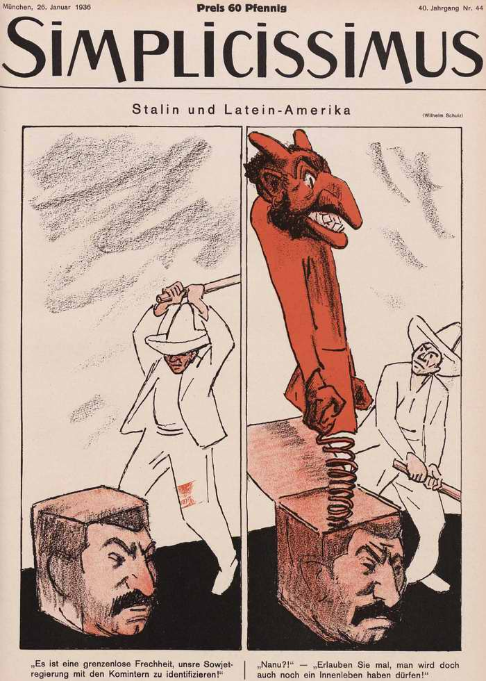 Сталин и Латинская Америка (Simplicissimus)