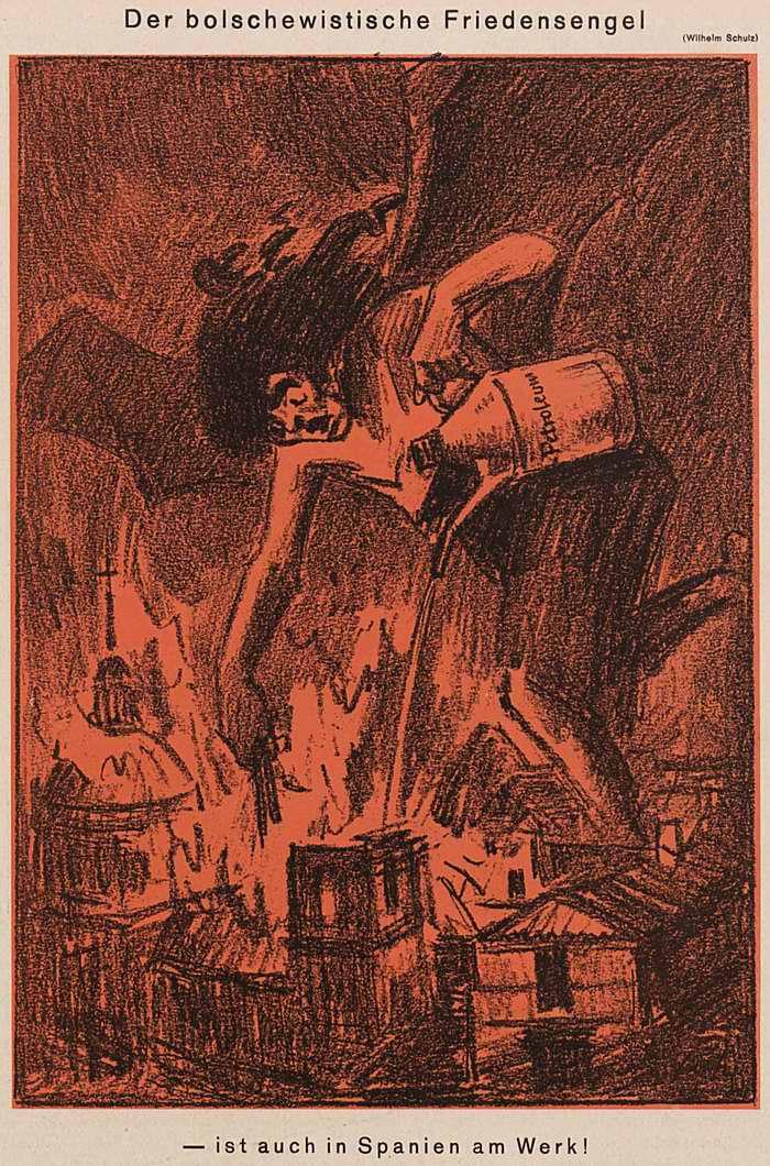 Большевистский ангел мира (Simplicissimus)