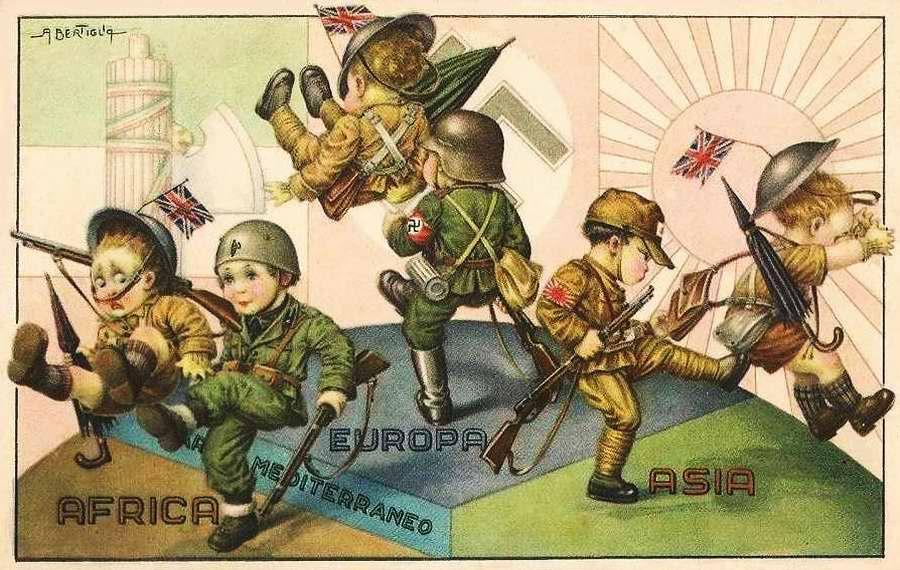 Дети фашисты - Bambini fascisti 4 - Aurelio Bertiglia 1941 - 1942