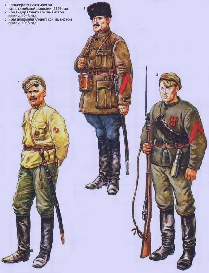 Добровольческие формирования РККА (1918 - 1920 г.г.)