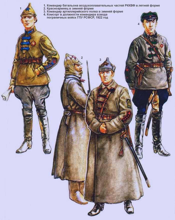 Рабоче-крестьянская Красная Армия (1920 - 1922 г.г.)