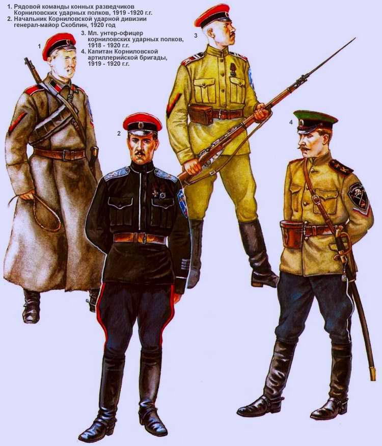Корниловская ударная дивизия (1918 - 1920 г.г.)
