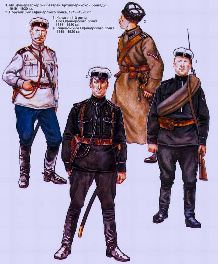 Офицерская дивизия генерала Маркова (1919 - 1920 г.г.)