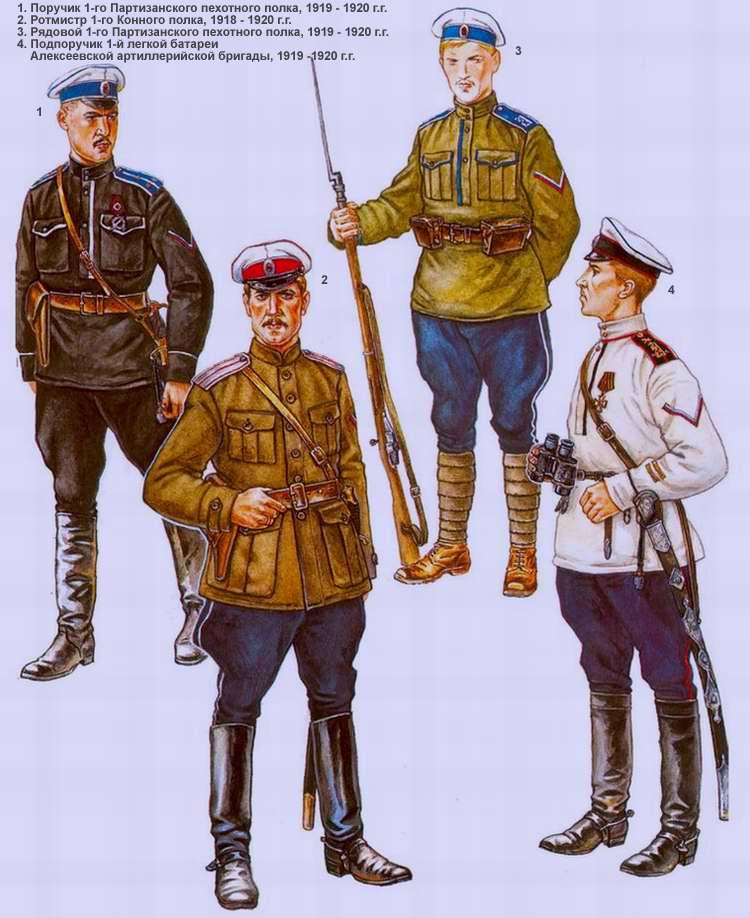 Партизанская пехотная дивизия генерала Алексеева (1918 - 1920 г.г.)