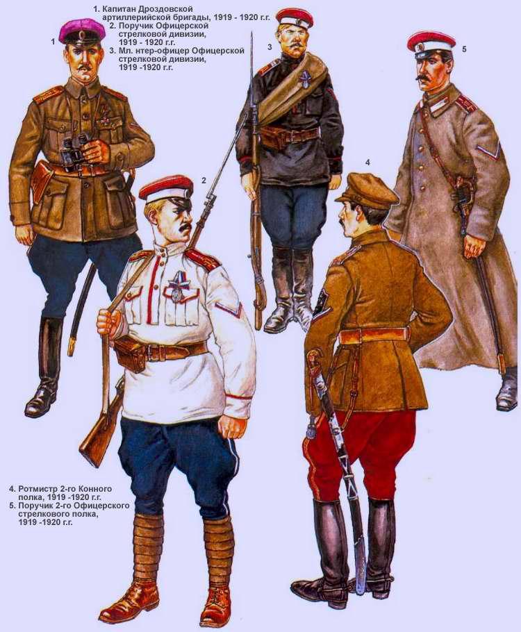 Офицерская стрелковая дивизия генерала Дроздовского (1918 - 1920 г.г.)