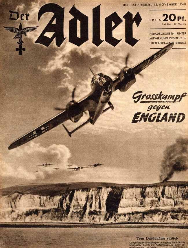 Битва с Англией - возвращение немецких бомбардировщиков после налета на Лондон