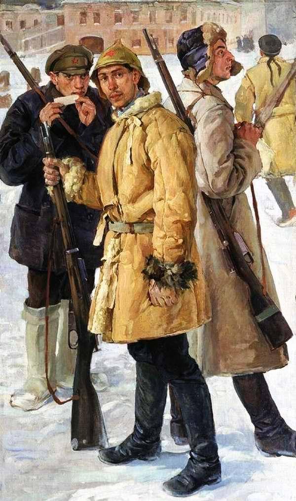 Первые красноармейцы. 1918 год - Иван Дроздов (1924 год)