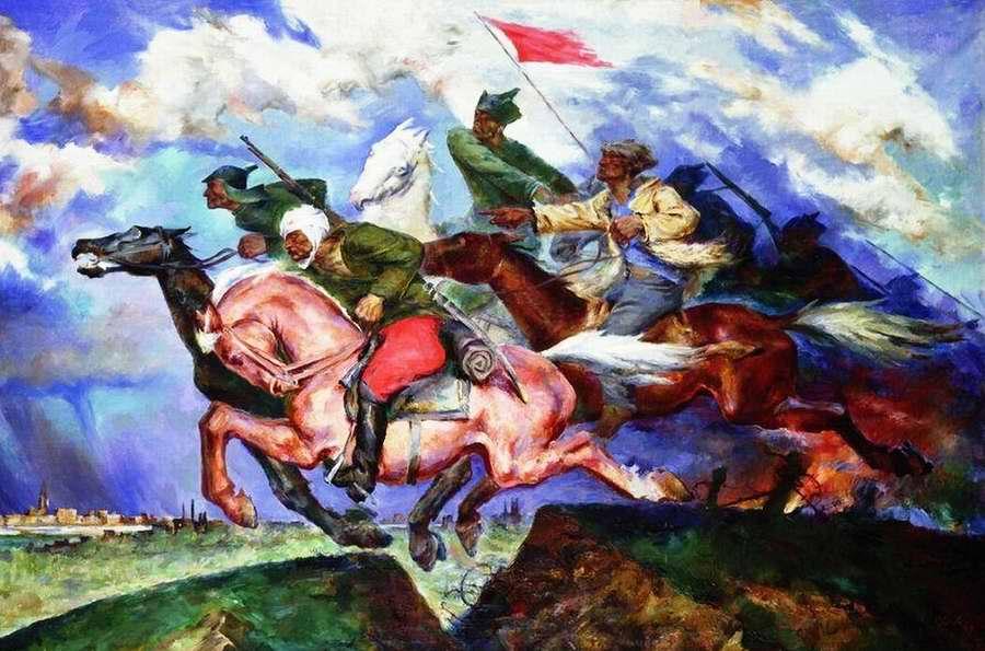 Даёшь Варшаву - Павел Соколов-Скаля (1929 год)