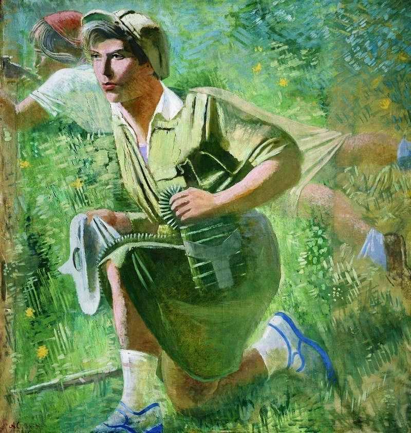Осоавиахимовка  - Александр Самохвалов (1932 год)