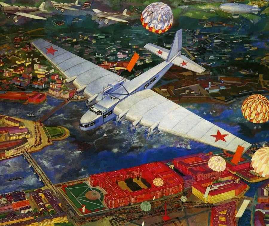 АНТ-20 Максим Горький - Василий Купцов (1934 год)