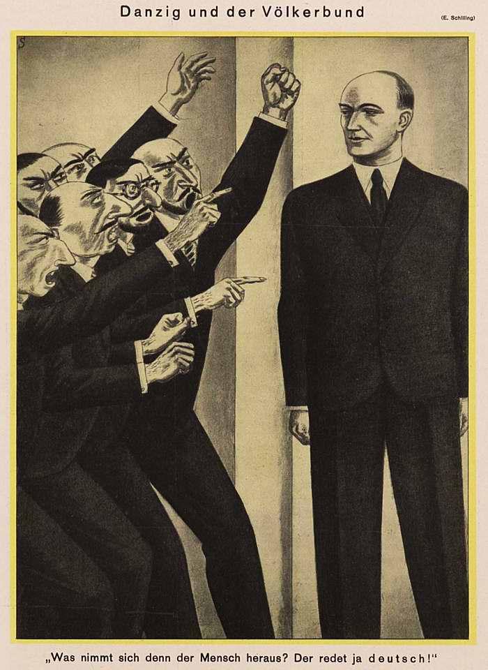 Данциг и Лига Наций (Simplicissimus)