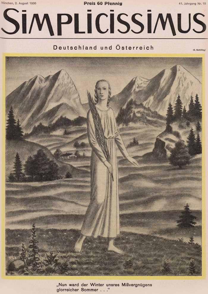 Германия и Австрия (Simplicissimus)