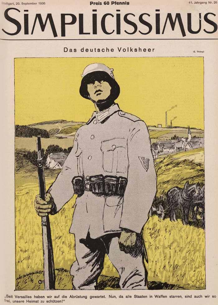 Немецкая народная армия (Simplicissimus)