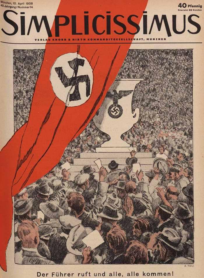 Фюрер нас созывает и все-все приходят! (Simplicissimus)