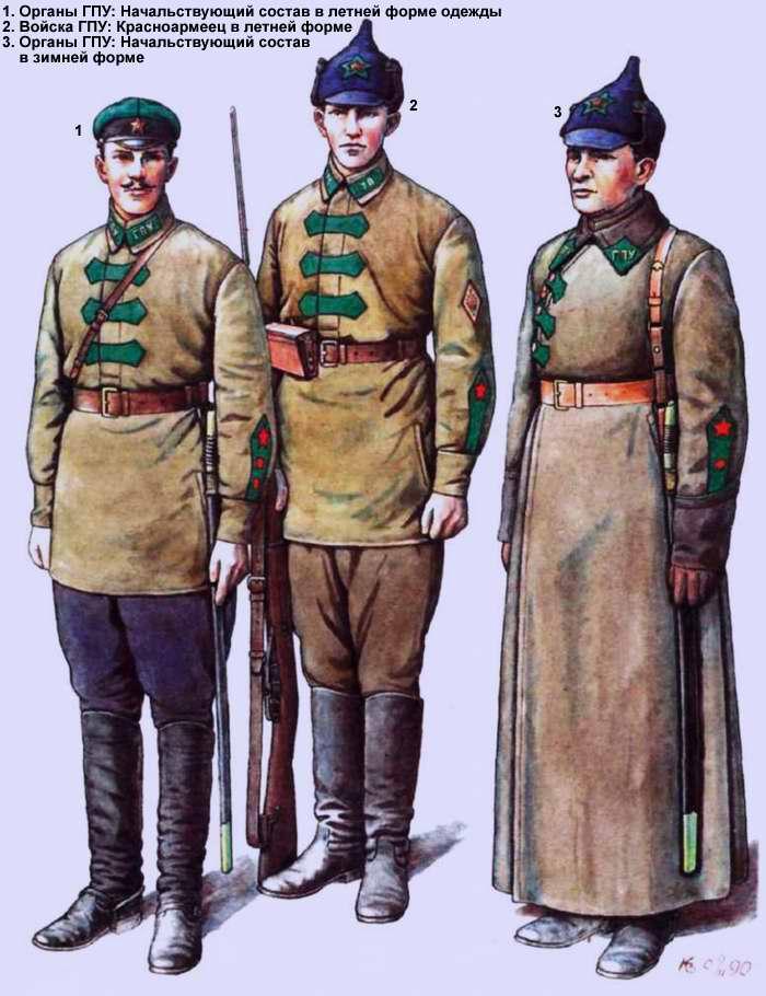 Органы и войска ГПУ (1922 год)