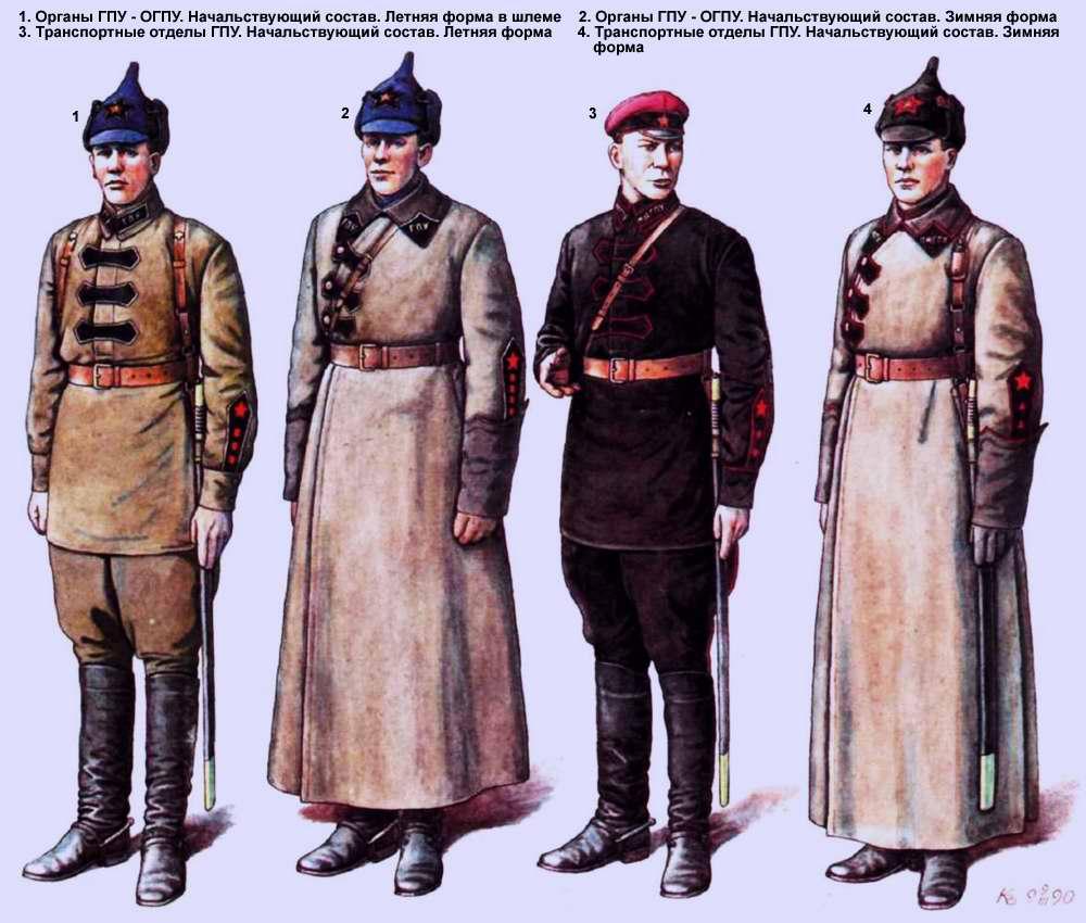 Органы ГПУ - ОГПУ (1923 год)