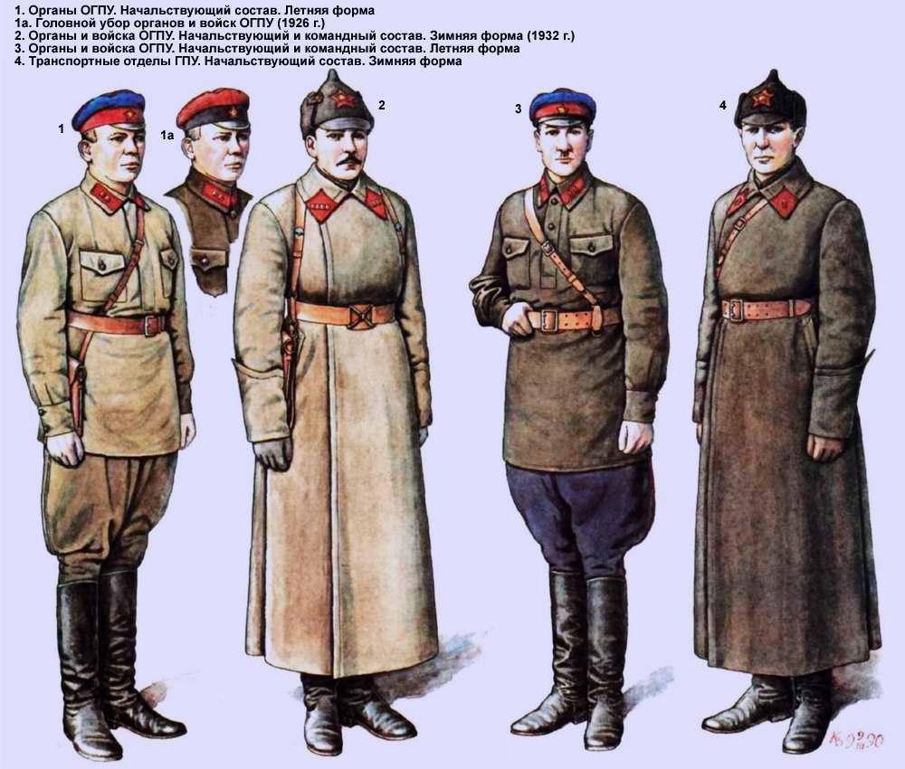 Органы и войска ОГПУ (1924 год)