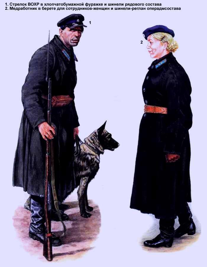 Сотрудники Главного Управления лагерей НКВД (1936 год)