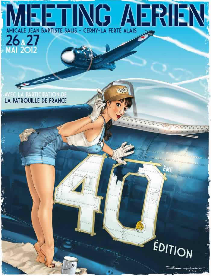 Romain Hugault pin-up 05