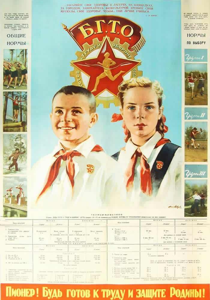 Пионер! Будь готов к труду и защите Родины! (1952 год)