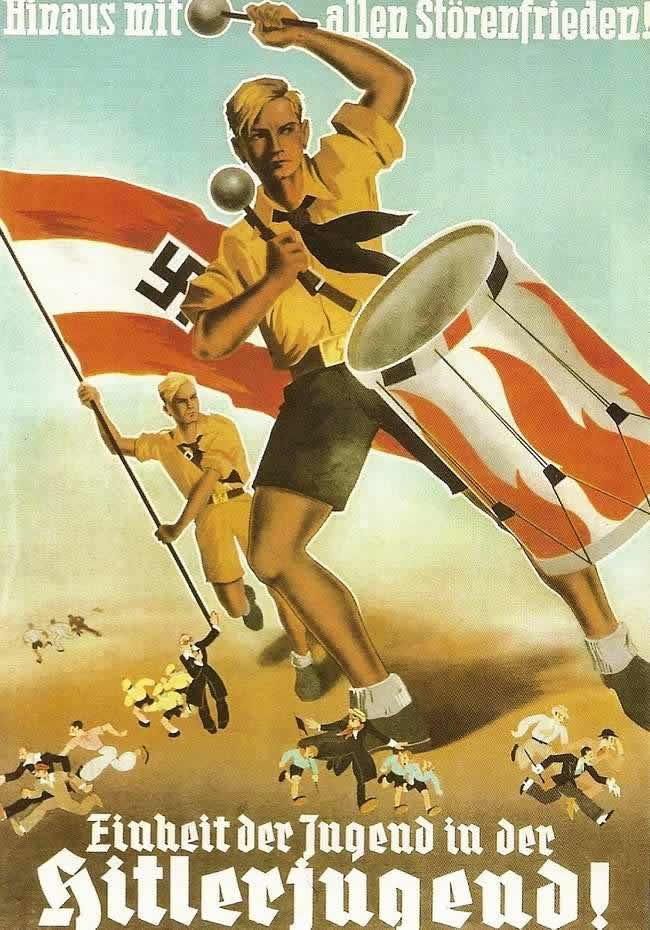 Гоните прочь всех возмутителей. За объединение молодежи в составе гитлерюгенда (1933 год)
