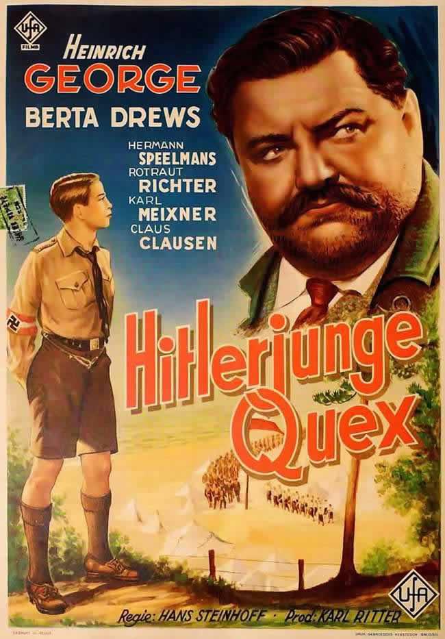 Еще один рекламный плакат фильма - Квекс из гитлерюгенда (1933 год)