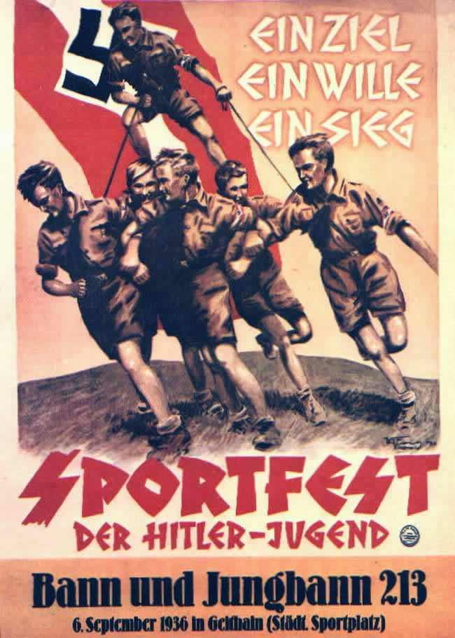 Одна цель, одна воля, одна победа! Спортивный праздник гитлерюгенда  (сентябрь 1936 года)