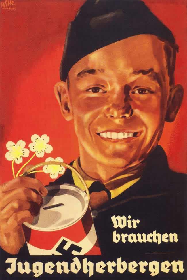 Нам нужны молодежные общежития (призыв к населению делать пожертвования на эти цели) - 1938 год
