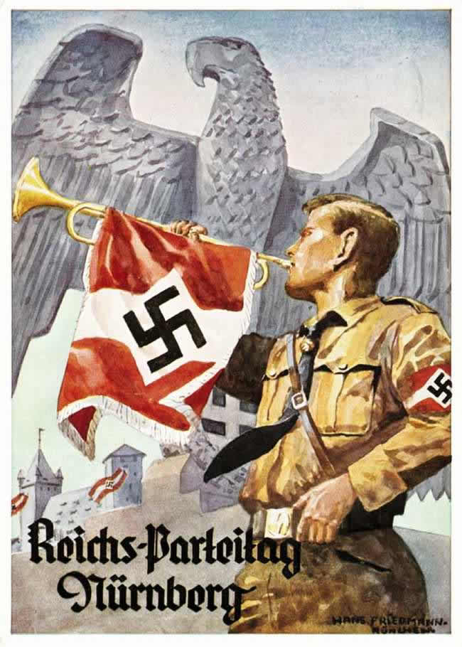 Общегерманский съезд национал-социалистической партии в Нюрнберге