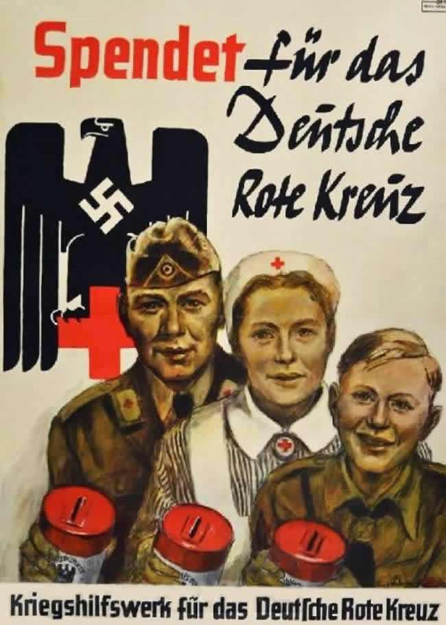 Делайте пожертвования в пользу немецкого Красного креста (1940 год)
