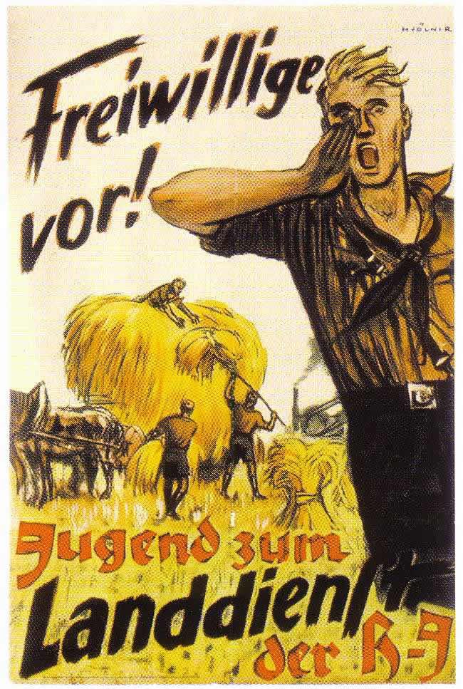За мной, добровольцы! Молодежь на сельскохозяйственные работы (1942 год)