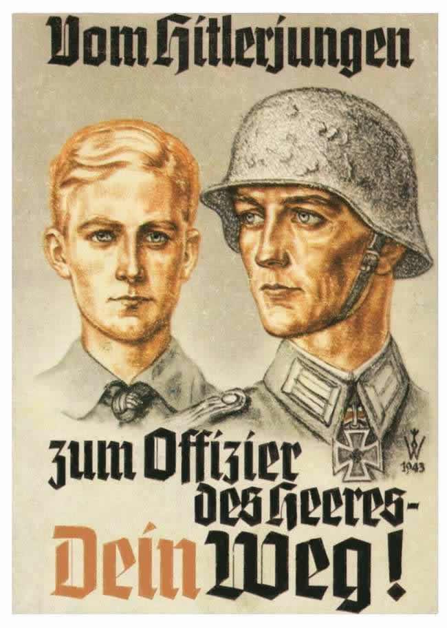 Твой путь - из гитлерюгенда в армейские офицеры (1943 год)