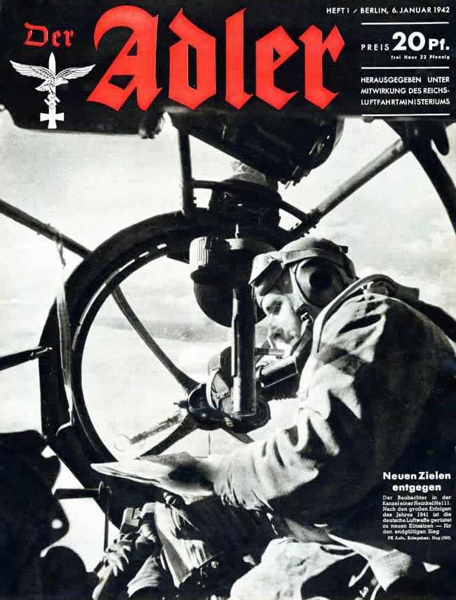 В кабине немецкого бомбардировщика Heinkel He 111: поиск новых наземных целей
