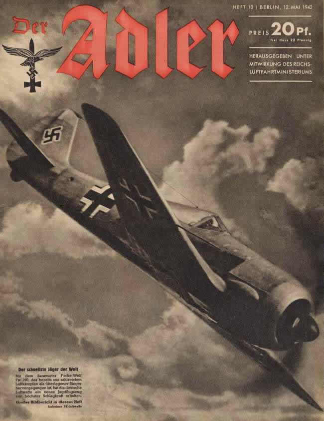 Focke-Wulf Fw-190 - самый быстрый истребитель в мире