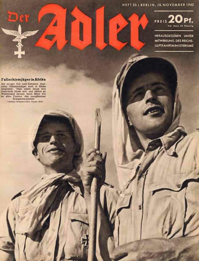 Немецкие парашютисты в Северной Африке