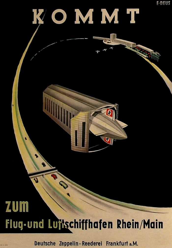 Лидер по количеству осуществленных воздушных рейсов - компания Deutsche Zeppelin Reederei, Германия, 1937 год