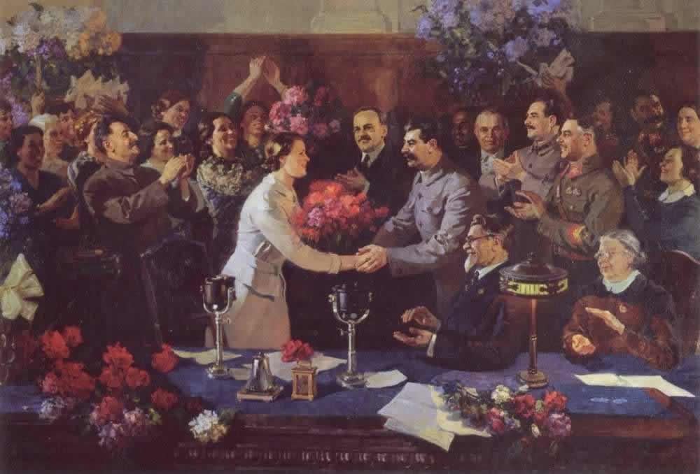 Незабываемая встреча - Василий Ефанов (1937 год)