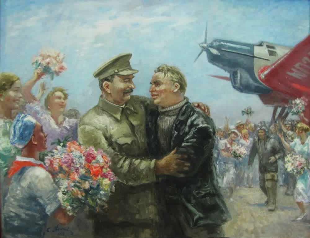 Сталинский маршрут -  Самуил Адливанкин (1936)
