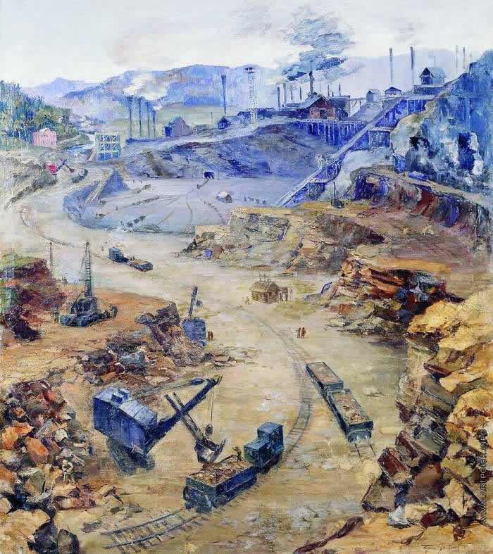 Рудник Сатка -- Борис Яковлев (1935)