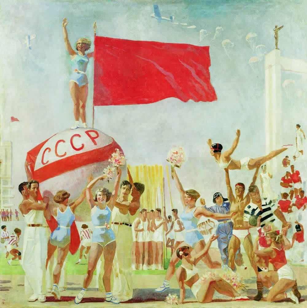 Советская физкультура -- А. Самохвалов (1937)
