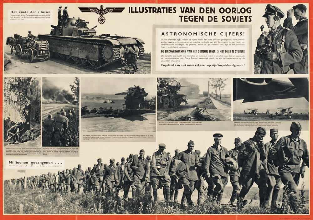 Иллюстрации к войне против СССР -- Нидерланды (1941 год)