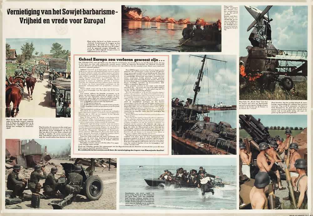 Разрушение Советского варварства обеспечит свободу и мир для Европы -- Нидерланды (1941 год)