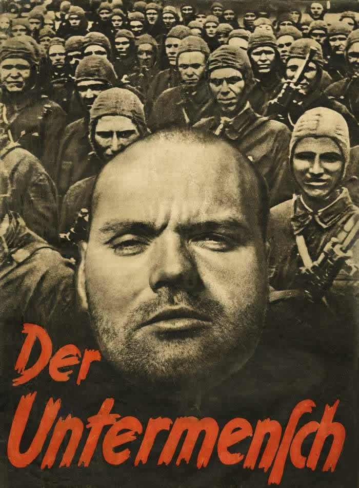 Недочеловек (обложка книги) -- Германия (1942 год)