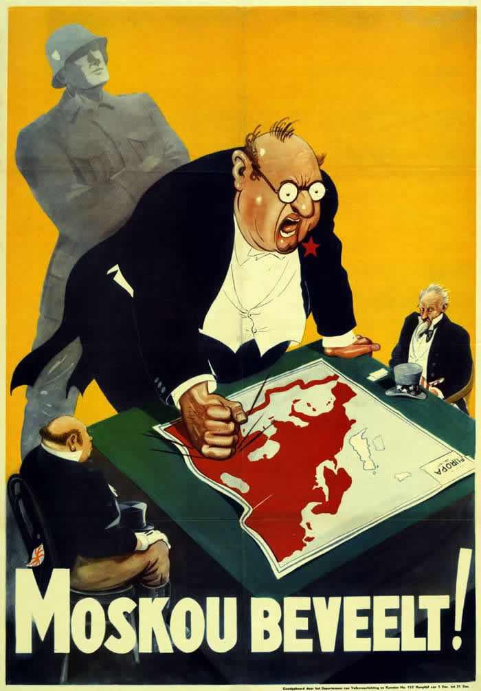 Москва выражает свои категорические требования перед союзниками по коалиции (по поводу послевоенного будущего Европы) -- Германия для территорий Нидерландов и Бельгии (1943 год)