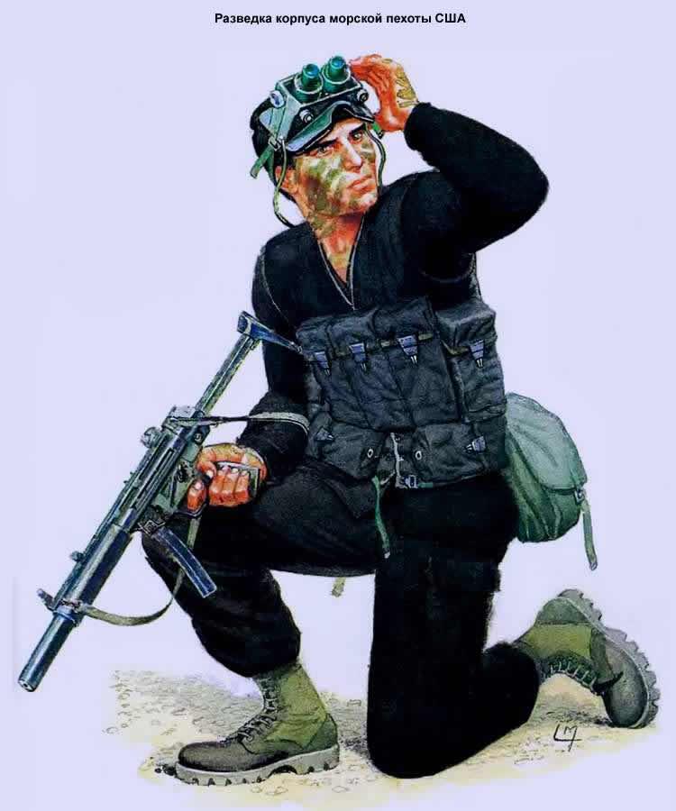Разведка корпуса морской пехоты