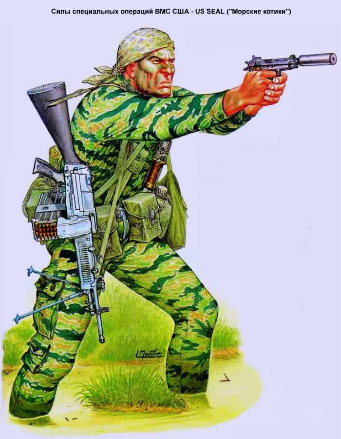 Силы специальных операций ВМС США - US SEAL (Морские котики)