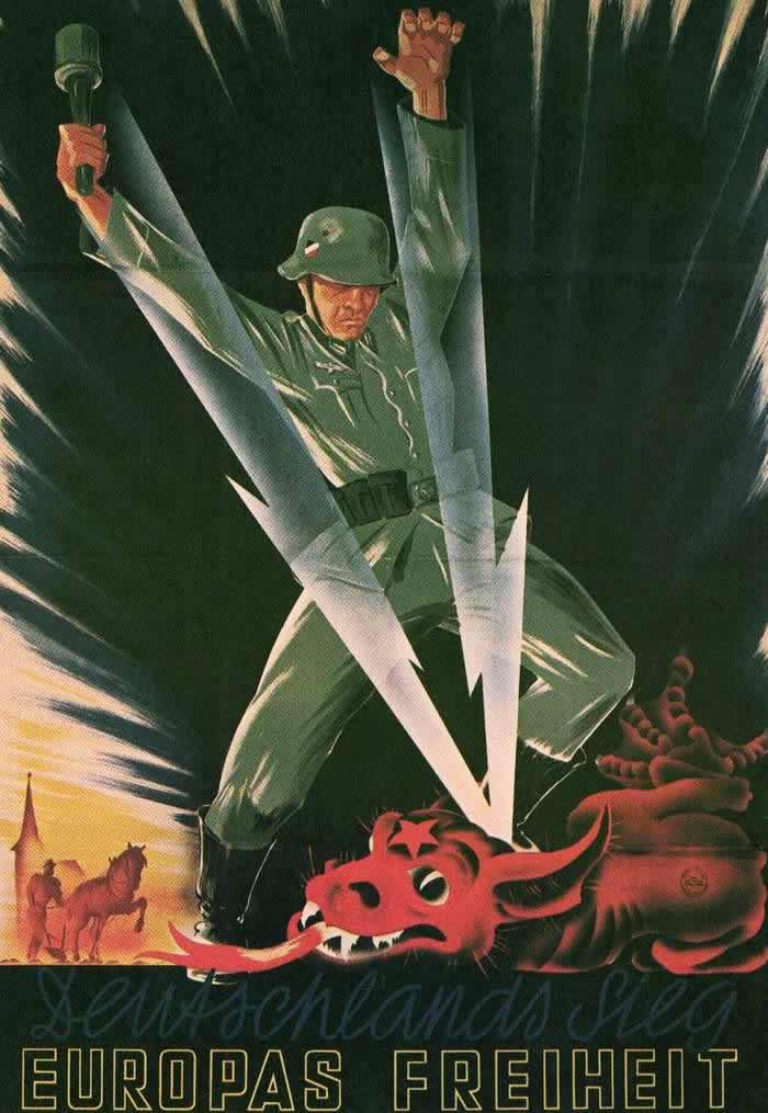 Германия одерживает победу и Европа становится свободной! -- Германия (1942 год)