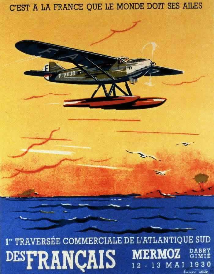 Коммерческий перелет через Южную Атлантику в режиме гонки (май 1930 года)