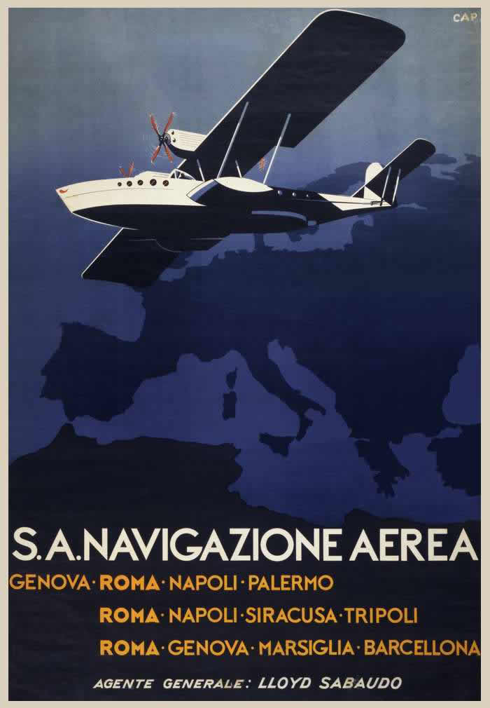 Авиакомпания Navigazione Aerea -- Италия (1931 год)