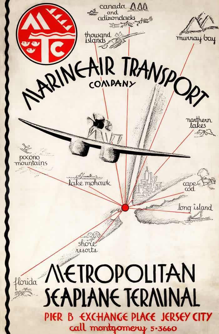 Нью-Йоркский гидроавиационный терминал (1932 год)